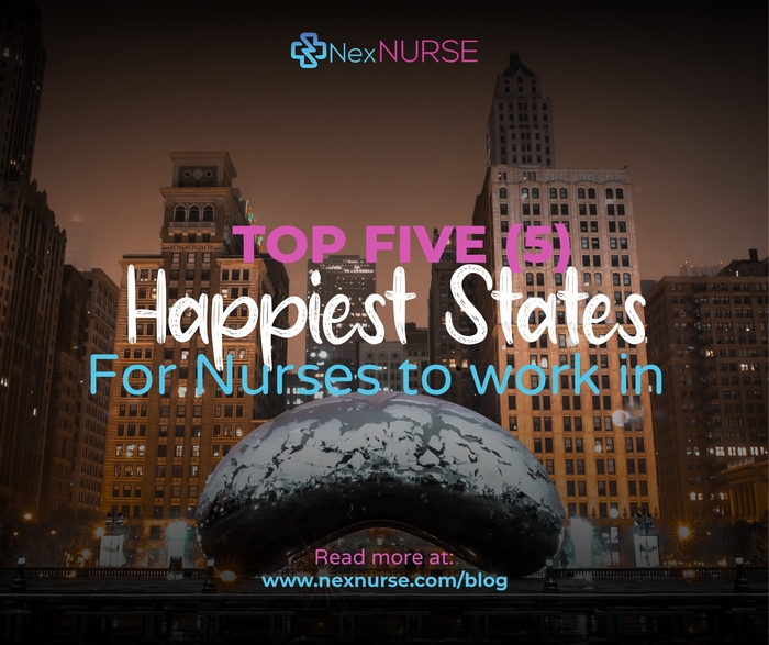 The Top 5 Happiest States For Nurses to Work in