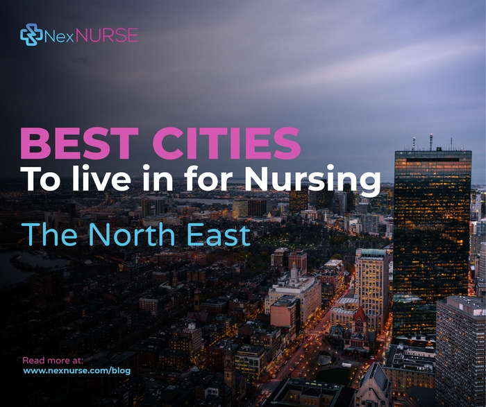 Best Cities to Live in for Nursing: The North East